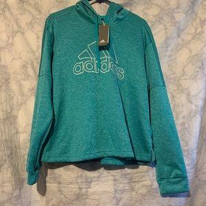 Adidas Turquoise Hoodie